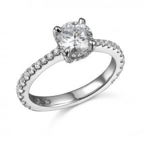 Phantom 105 Diamond Engagement Ring