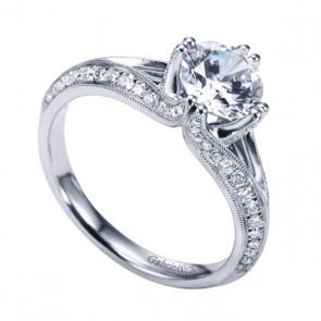 Gabriel and Co. Diamond Engagement Rings