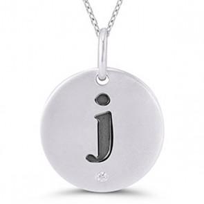 Teen Jewelry - Initial Pendant