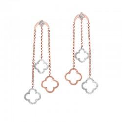 Gold Diamond Earrings 3/8 ctw