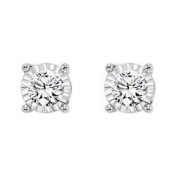 14kw 1/10cttw Diamond Studs