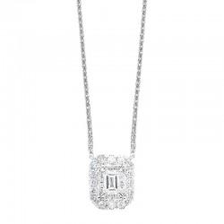 14K Diamond Pendent 1/3 ctw