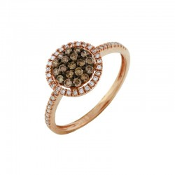 Diamond & Mocha Diamond Ring