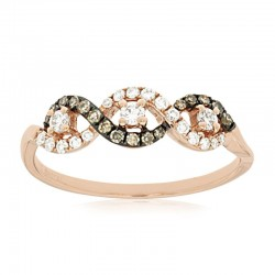 Diamond & Mocha Diamond Ring