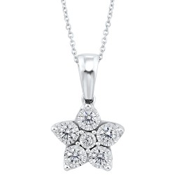 Sil  Diamond Pendant