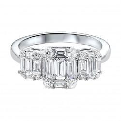 14kw 1/2cttw Diamond Ring