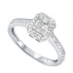 14K Diamond Ring 1/10ctw