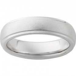 6mm Serinium® Domed Stone Band