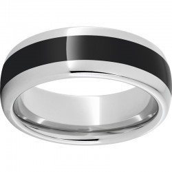 8mm Serinium® Blk Ceramic Satin Finish