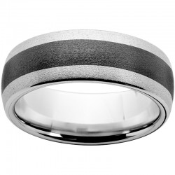 8mm Serinium® Bd Blk Ceramic Inlay Stone