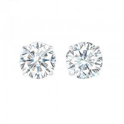 14K Diamond Studs 1 1/2 ctw