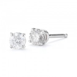 14ktw .23ct tw Diamond Studs H/I I2/I3