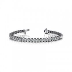 14Kw 1Ct Dia Tennis Bracelet I/J I1