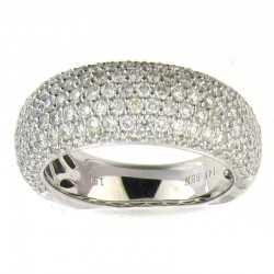 14KW 1.50CT DIAMOND BAND, SIZE 7