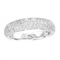 14KW 1.00CT DIAMOND RING, SIZE 7