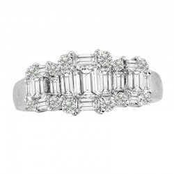 14kw 1.50 bag,ec & rd diamond ring, size 7