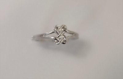 Silver Diamond Fashion Ring