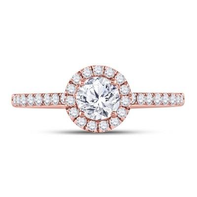 14Kr 3/4Cttw Diamond Ring