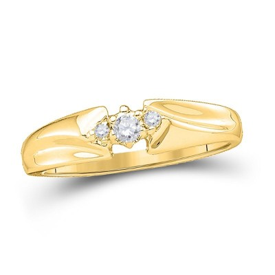 10Ky 1/10Cttw Diamond Promise Ring