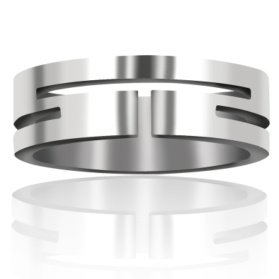 Titanium Wedding Band 7mm