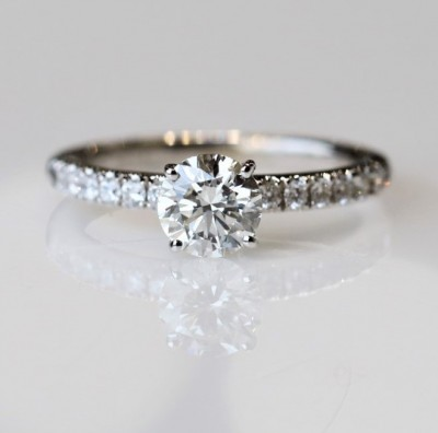 1.25CTW Lab Grown Diamond Engagement Ring
