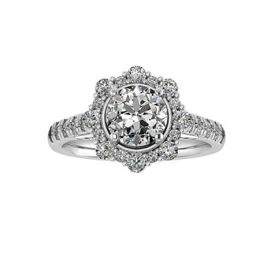 14kw .68cttw Diamond Semi-mount