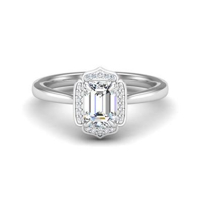 14kw .07cttw Diamond Semi-mount