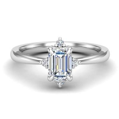 14kw .05cttw Diamond Semi-mount