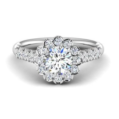 14kw .60cttw Diamond Semi-mount