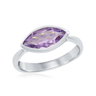 SS Marquis Amethyst East/West Ring