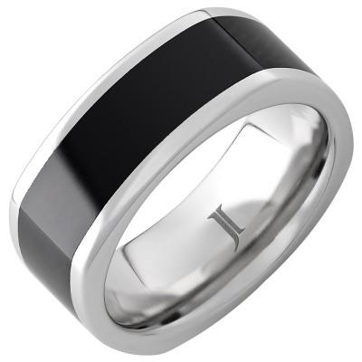 9mm Serinium® Sq Bd Blk Ceramic Inlay