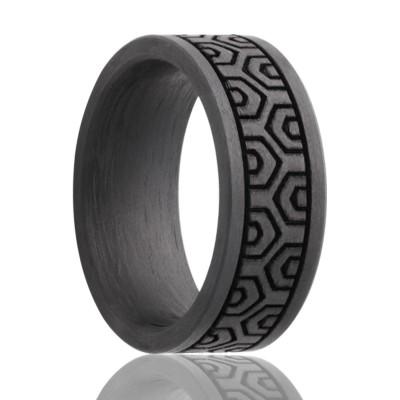 8mm Carbon Fiber Band Size 9.5