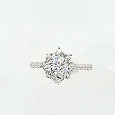14kw .35cttw Diamond Semi-mount