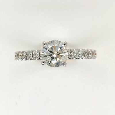 1.25CTW ASTRL Lab Grown Diamond Engagement Ring