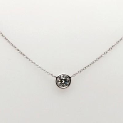 .50ct ASTRL Lab Grown Bezel Set Diamond Pendant