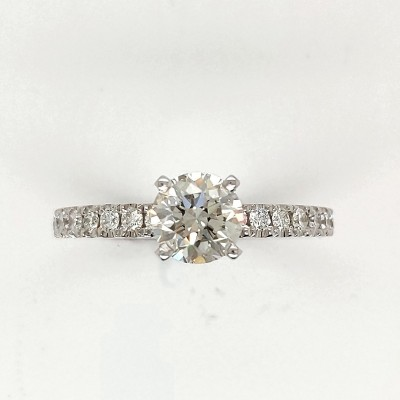 1.25CTW ASTRL Lab Grown Diamond Engagement Ring