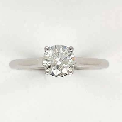 1.11CTW ASTRL Lab Grown Diamond Solitaire Engagement Ring