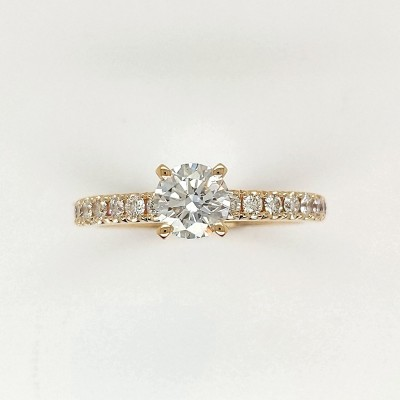 1.07CTY ASTRL Lab Grown Diamond Engagement Ring