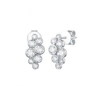 .925cttw Lab Grown Diamond Earrings