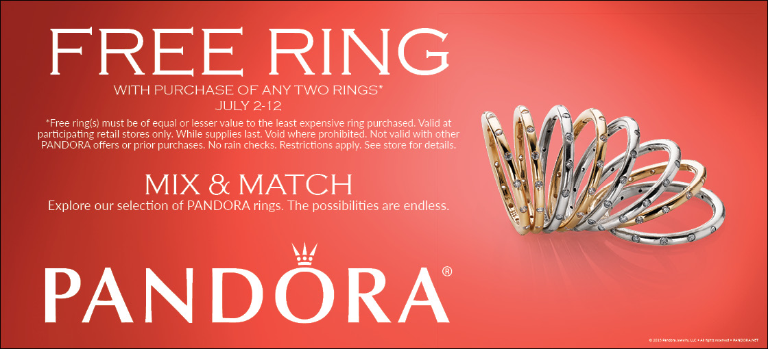 Pandora Summer Ring Event
