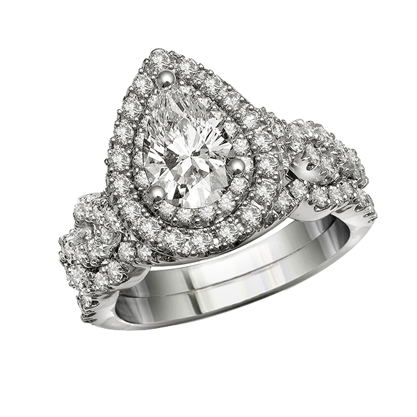 Amidon Jewelers Fancy Diamond Engagement Ring