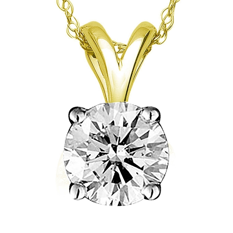 Diamond Pendant For Mom!
