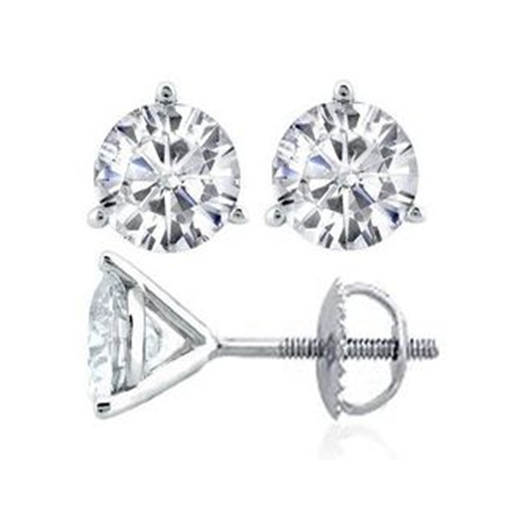 The Perfect Gift, Martini Diamond Solitaire Earrings