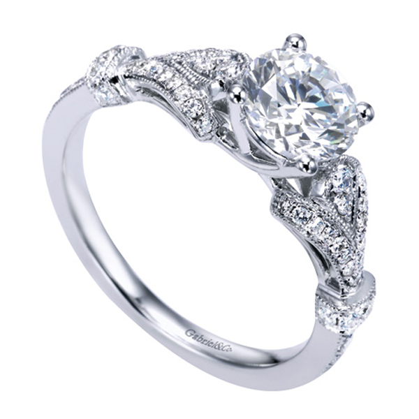 Gabriel and Co Diamond Engagement Rings